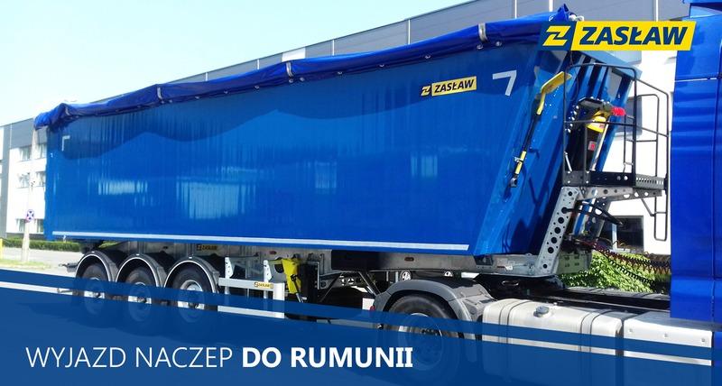 Wyjazd Naczep do Rumunii